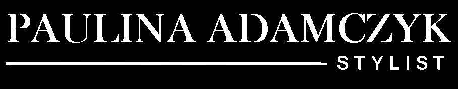 logo Paulina Adamczyk biale